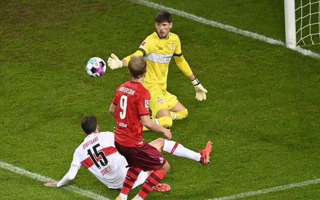 Sebastian Andersson vergab die große Chance auf den Kölner Sieg