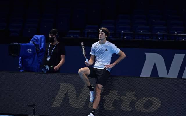 Alexander Zverev meldet sich bei den ATP-Finals zurück, besiegt den Argentinier Diego Schwartzman