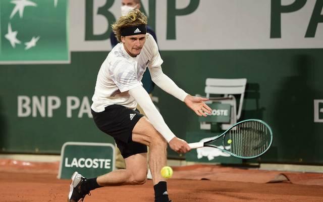 Alexander Zverev steht in Roland-Garros in Runde zwei