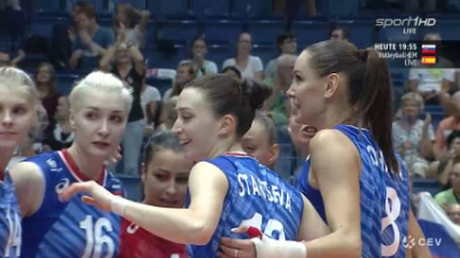 Russland gewinnt gegen Weißrussland