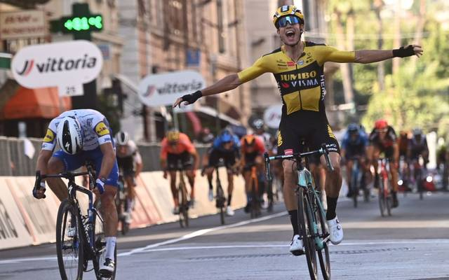Wout Van Aert gewinnt Mailand-Sanremo