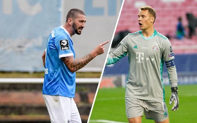 Sascha Mölders schließt bei der Wahl doppelt so gut ab wie Manuel Neuer