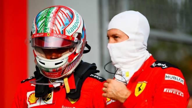 Charles Leclerc (l.) schnitt bei den Teamchefs deutlich besser ab als Sebastian Vettel (r.)