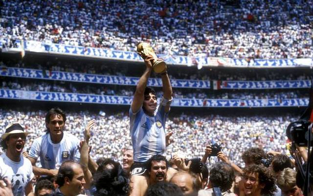 Diego Maradona führte Argentinien zum Gewinn der WM 1986