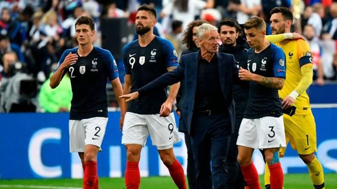 Frankreich kassiert eine Geldstrafe der UEFA