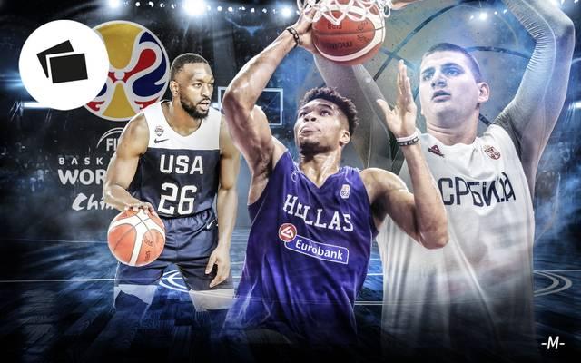 Die Stars der Basketball-WM