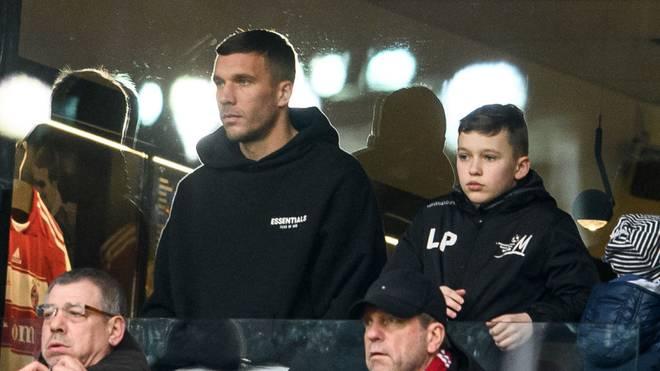 Lukas Podolski arbeitet zukünftig für den 1. FC Köln