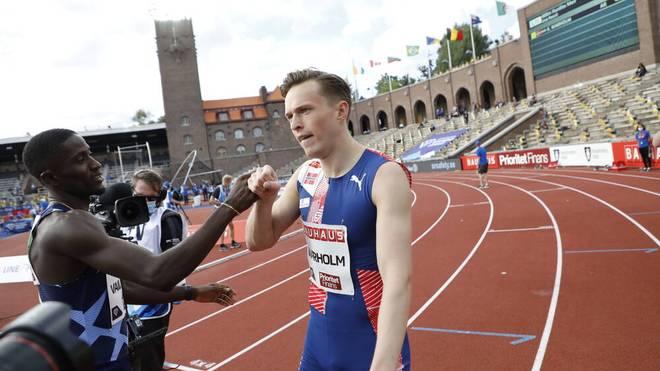 Karsten Warholm verpasste knapp einen neuen Weltrekord über 400 m Hürden
