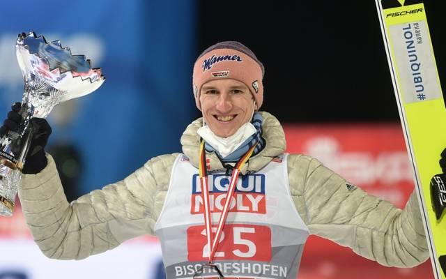 Karl Geiger wird auch in Titisee-Neustadt dabei sein