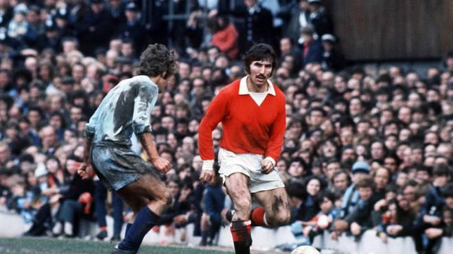 Tony Dunne (r.) war einer der besten Verteidiger in der Geschichte Manchester Uniteds