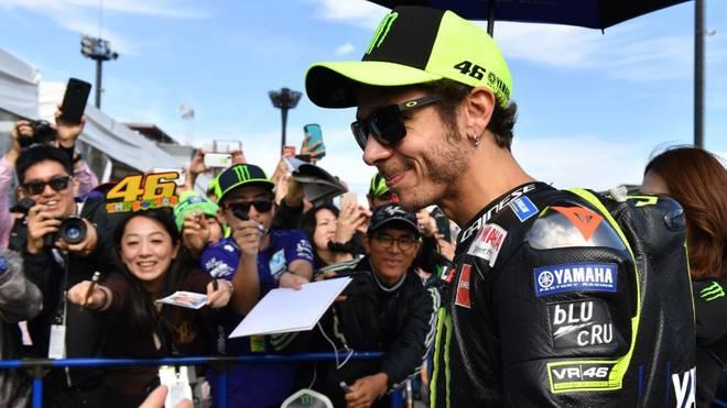 Der Name Valentino Rossi steht für den Motorradrennsport wie kaum ein anderer