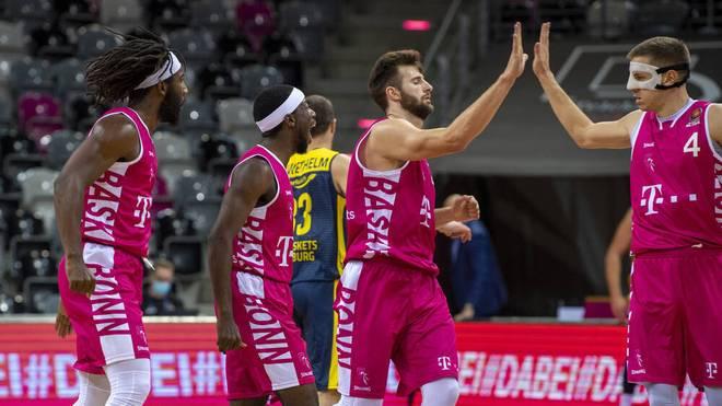 Die Spieler der Telekom Baskets Bonn dürfen die Quarantäne wieder verlassen