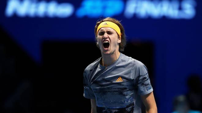 Alexander Zverev hatte Rafael Nadal bei den ATP Finals klar im Griff