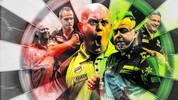 Raymond van Barneveld,Max Hopp, Michael van Gerwen, Peter Wright und Gary Anderson gehören zu den größten Stars der Darts-WM 2020