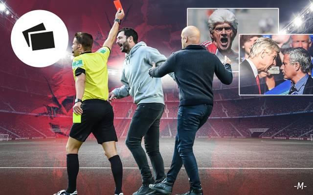 Die größten Trainer-Ausraster im Fußball