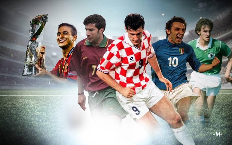 """Seit 1978 kürt die UEFA bei jeder U21 EM den besten Jung-Star des Turniers zum """"Goldenen Spieler"""". SPORT1 zeigt alle Gewinner von Davor Suker bis Dani Ceballos"""