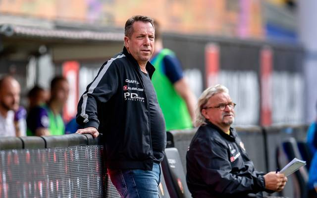 Markus Kauczinski ist Trainer von Dynamo Dresden