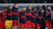RB Leipzig feiert die Herbstmeisterschaft