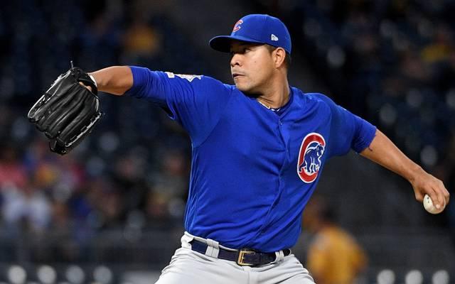 Jose Quintana von den Chicago Cubs hat sich beim Geschirrspülen verletzt