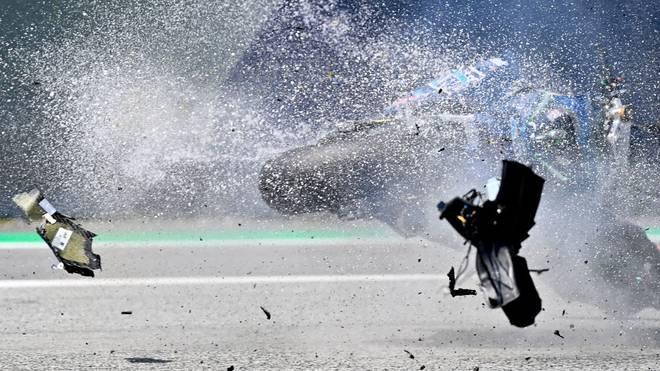 Bei der Moto2 in Spielberg ereignete sich ein schlimmer Sturz