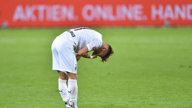 Hannes Wolf und seine Gladbacher musste sich mit einem 0:0 zufrieden geben