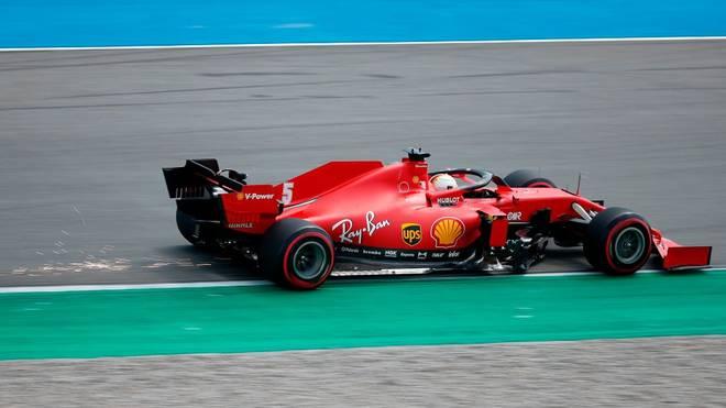 Sebastian Vettel haben zwölf Zentimeter zum Einzug in das Q3 gefehlt