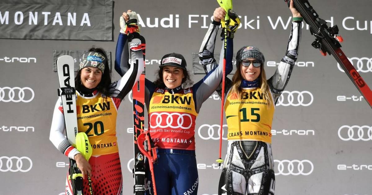 Ski alpin: Mikaela Shiffrin muss Führung im Gesamtweltcup abgeben