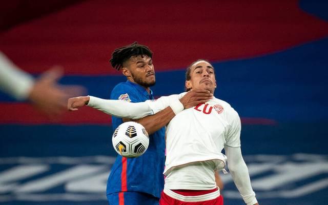 Dänemark und England spielen in der Nations League gegeneinander