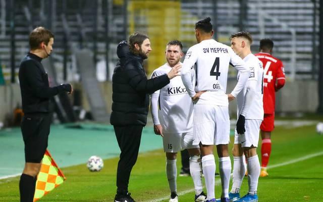 Der FC Bayern II besiegte den SV Meppen und dessen Coach und früheren FCB-Profi Torsten Frings