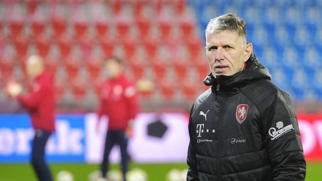 Der tschechische Nationaltrainer Jaroslav Silhavy ist seit 2018 im Amt