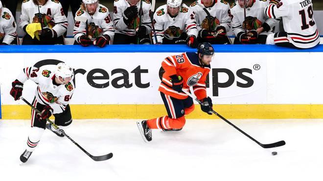 Leon Draisaitl kassierte mit den Edmonton Oilers eine Niederlage