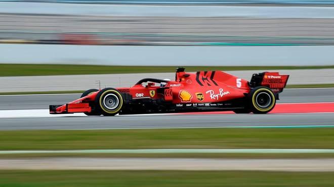 "Vettels neuer Ferrari heißt ""Lucilla"""