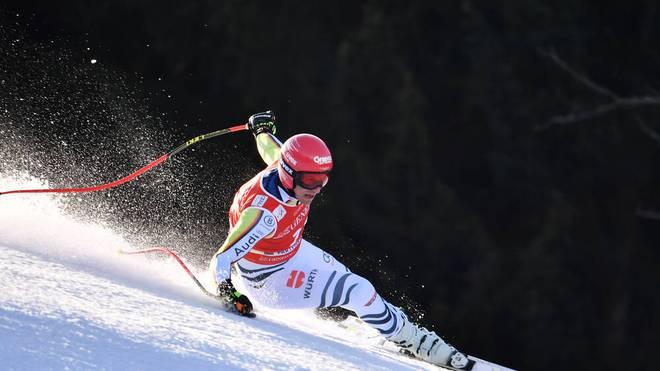 Josef Ferstl stürzte beim Heimrennen in Garmisch-Partenkirchen schwer