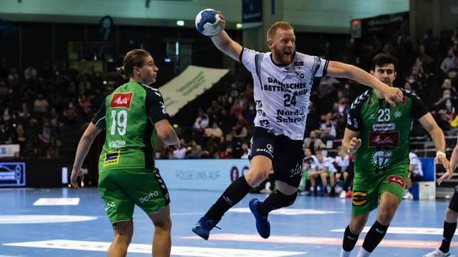 Der dreimalige deutsche Handballmeister SG Flensburg-Handewitt gewinnt auch ihr drittes Spiel in der laufenden Bundesliga-Saison