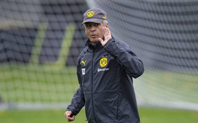 Lucien Favre wird mit Borussia Dortmund nicht gegen den RSC Anderlecht testen