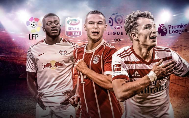 Ob gestandene Stars oder verheißungsvolle Talente - einige Bundesliga-Kicker stehen bei großen Klubs aus dem Ausland hoch im Kurs. SPORT1 zeigt die begehrtesten