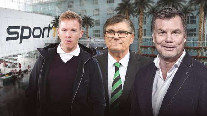Julian Nagelsmann und Hans Meyer äußern sich am Sonntag im CHECK24 Doppelpass