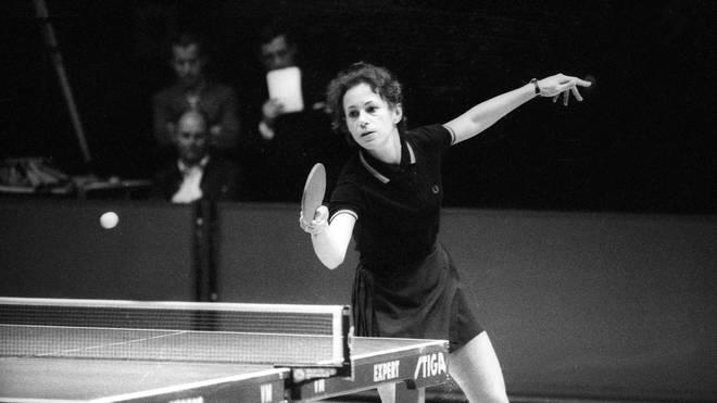 Agnes Simon gewann 1962 bei der EM Gold im Einzel und mit der Mannschaft