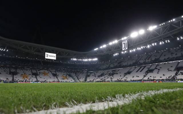 Die Zuschauerränge im Stadion von Juventus Turin werden vorerst leer bleiben