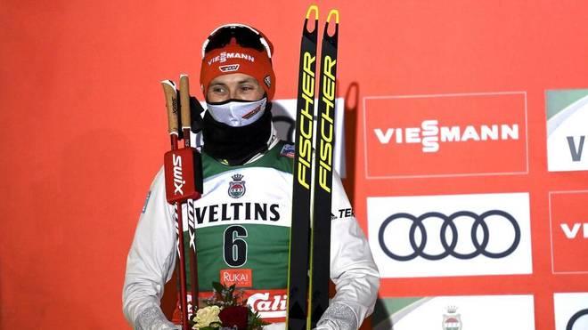 Eric Frenzel wurde in Kuusamo Zweiter