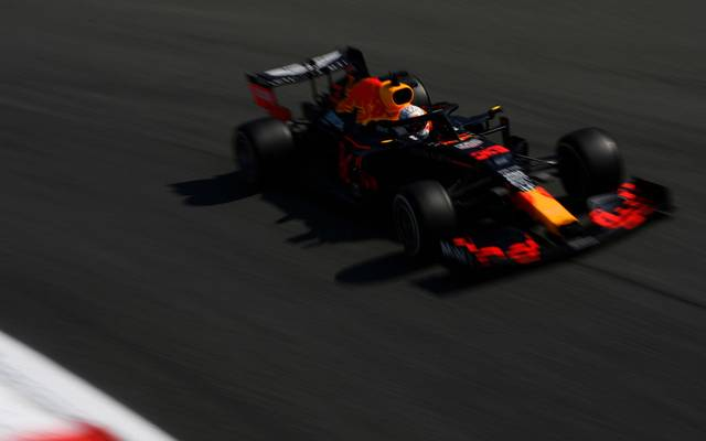 Max Verstappen machte im Monza-Training der Formel 1 Bekanntschaft mit dem Kiesbett