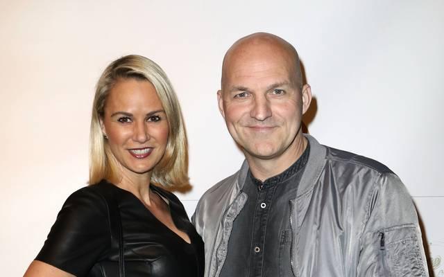 Stefan Schnoor, auch schon SPORT1-Experte (hier mit Gattin Nicole), spielte als Profi unter anderem für den HSV