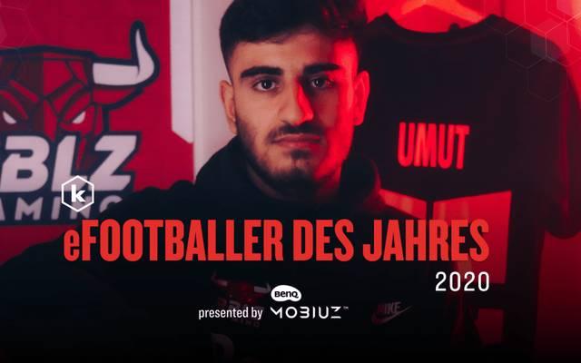 """RBLZ_UMUT gewinnt die begehrte Auszeichnung """"eFootballer des Jahres"""""""