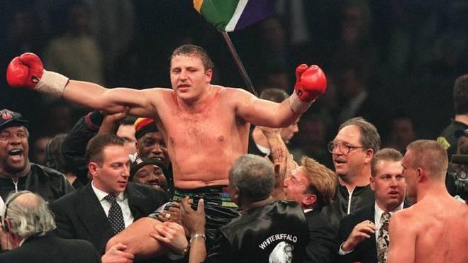 Der Sieg von Francois Botha gegen Axel Schulz 1995 wurde annulliert
