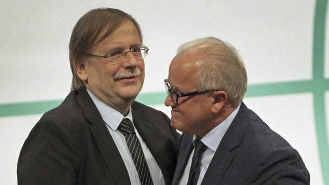 Zwischen Rainer Koch (l.) und Fritz Keller knirscht es gewaltig