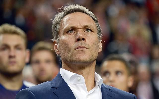 Marco Van Basten leistete sich im TV einen Fauxpas