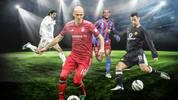 Robben, Figo, Ronaldinho