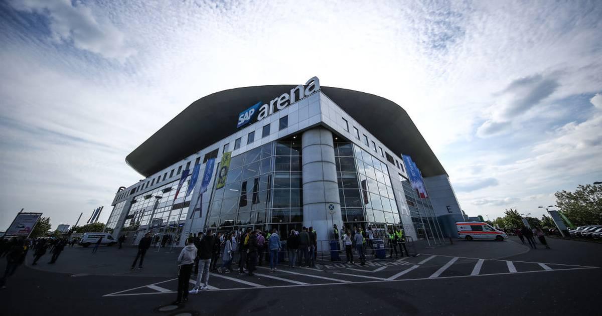 Volleyball: DVV-Pokalfinale bis 2025 in Mannheim in der SAP Arena