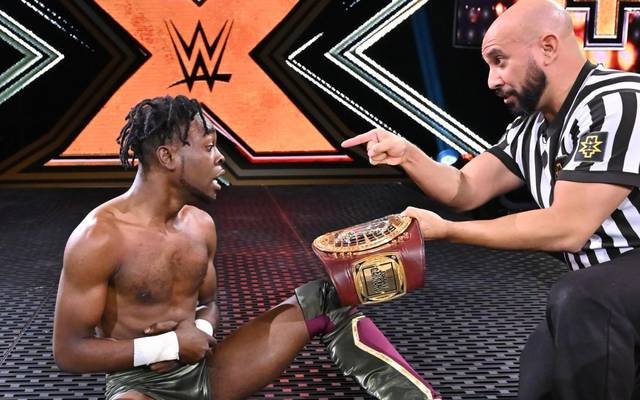 Leon Ruff krönte sich bei WWE NXT zum North American Champion