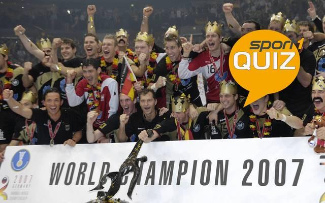 Deutschland wurde 2007 Handball-Weltmeister im eigenen Land